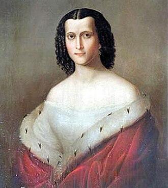 Batonishvili - Image: Nino Dadiani, Princess of Samegrelo