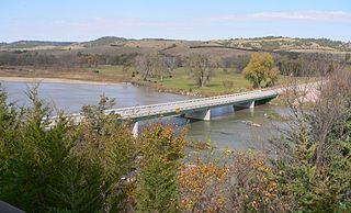 Niobrara River Tributary of the Missouri River in the central United States