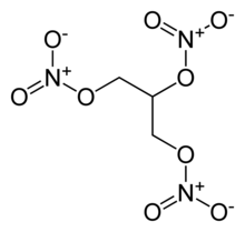 نيتروغليسرين chemical structure