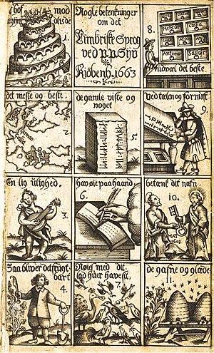 1663 in Denmark - Nogle Betenkninger om det Cimbriske Sprog (1663)