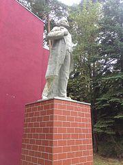 Nohra - GSSD-Kaserne Leninstatue