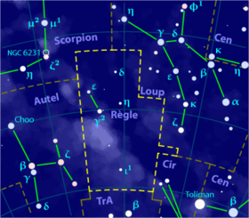 Image illustrative de l'article Règle (constellation)