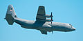 Normandy '10- Utah Beach 2-ship Hercules low pass (4830635697).jpg