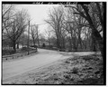 North approach, looking south. - Pendleton Avenue Bridge, Spanning Fall Creek, Pendleton, Madison County, IN HAER IND,48-PEN,1-2.tif