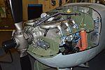 Nose engine of Cessna O-2A Skymaster (68-10848) (30228819312).jpg