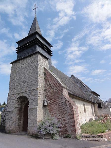 Noyales (Aisne) église