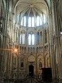 Noyon (60), cathédrale Notre-Dame, croisillon nord, vue vers le nord.jpg