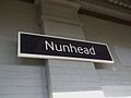 Nunhead station signage.JPG