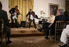 Nuttin' But Stringz plays at the White House.jpg