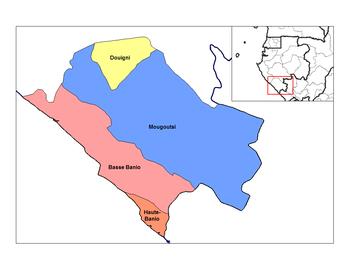 Haute-Banio Department in the region