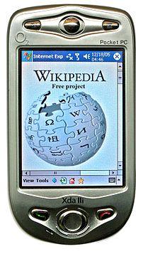 An O 2  Pocket PC phone