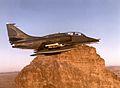 OA-4M Skyhawk of H&MS-32 in experimental paint scheme 1983.jpg