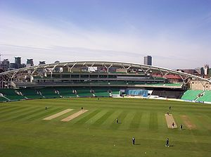 The Oval - Surrey v Yorkshire (OCS stand in background)