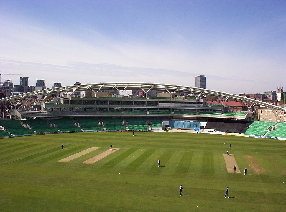OCS Stand (Surrey v Yorkshire in foreground)