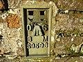 OS Flush Bracket S 9593 - geograph.org.uk - 1859953.jpg