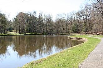 Oak Openings Preserve Metropark - Image: Oak Openings Mallard Lake