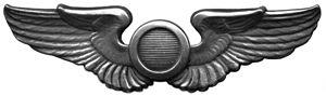 Nathan Farragut Twining - Image: Observer Badge