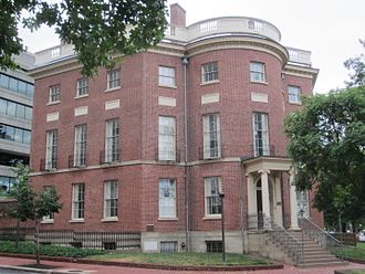Reportedly haunted locations in the District of Columbia - The Octagon is supposedly one of the most haunted buildings in D.C.