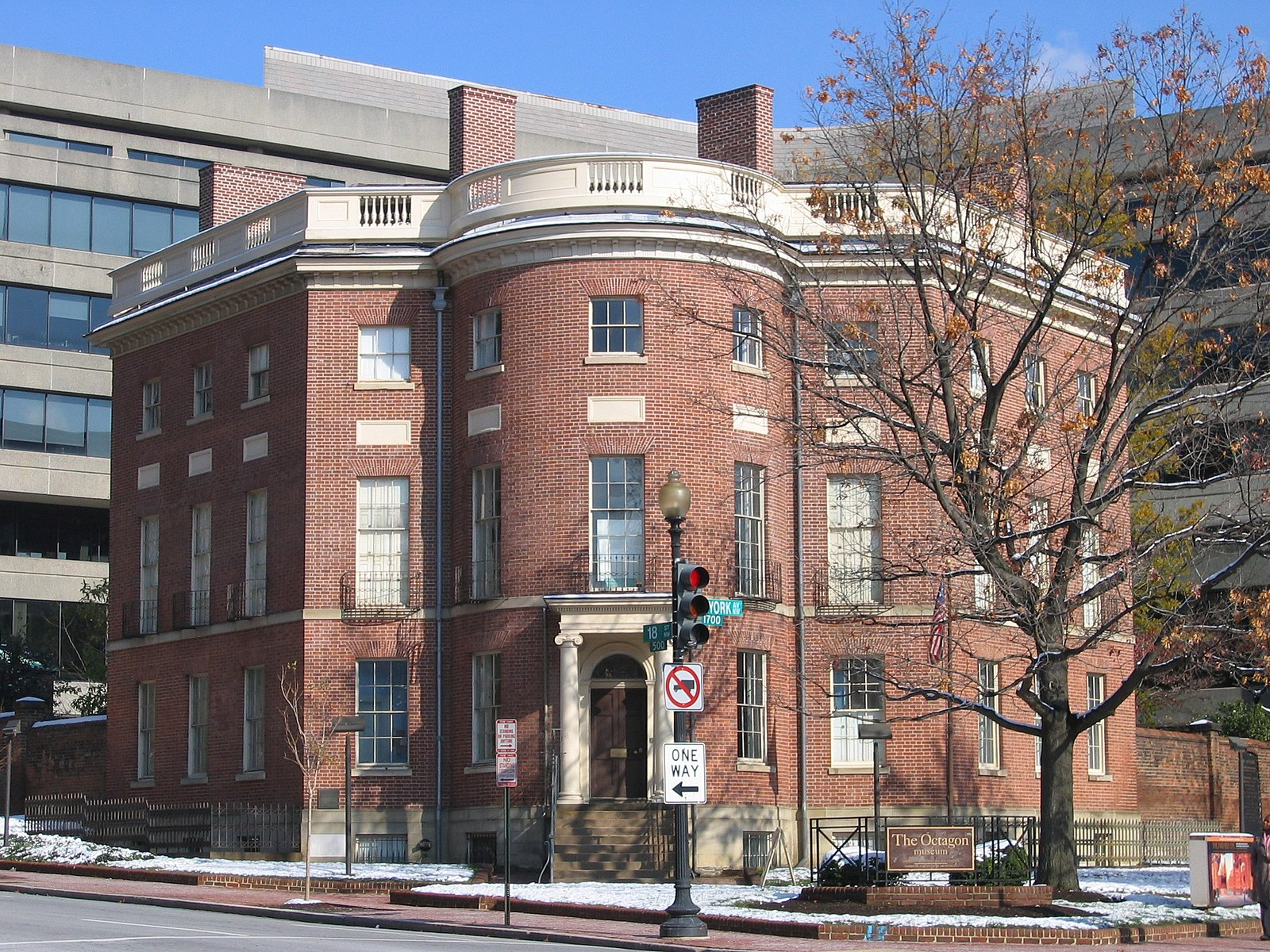 AIA HQ Octagon House Washington DC