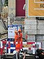 Oerlikon - 'Gleis 9' während der Gebäudeverschiebung 2012-05-22 13-28-26 (P7000).JPG