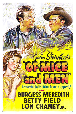 Description de l'image Of Mice and Men poster.jpg.