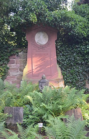 Leopold Bode - Offenbach, Old Cemetery, grave Leopold Bode