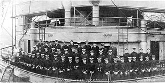 Frederick J. Horne - Image: Officers of USS Von Steuben (September 1919)