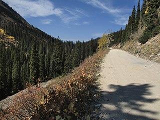 Ohio Pass High mountain pass in Colorado, US