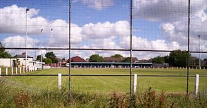 Bloxwich United A.F.C. - The club's home ground, the Old Red Lion Ground
