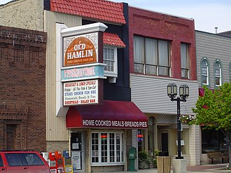 Ludington, Michigan - Image: Old Hamlin Restaurant