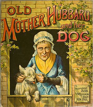 Old Mother Hubbard - 1889 United States depiction