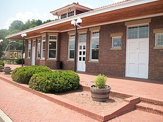Olive Hill, Kentucky - Image: Olive Hill Depot