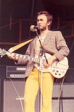 Ollie Halsall - Ollie Halsall playing at Hyde Park, 1974