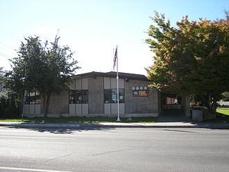 North Central Regional Library - A branch of North Central Regional Library in Omak, known as Omak Public Library.