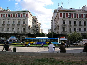 Omonia Square, Athens, Greece.