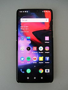 huge selection of ce6b1 2f8ac OnePlus 6 - Wikipedia