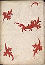 Onvoltooid wapen van Loon-Heinsberg - Unfinished coat of arms of Loon-Heinsberg - Wapenboek Nassau-Vianden - KB 1900 A 016, folium 37r.jpg