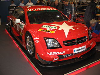Opel Vectra - Opel Vectra C, built to the DTM rules
