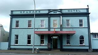 Ōpunake Minor urban area in Taranaki, New Zealand