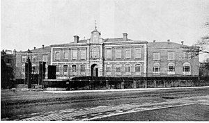 Ordnance Survey buildings - The main building (now demolished) in 1930