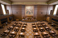 Oregon Senate Chambers.