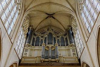 Saint-Germain l'Auxerrois - Organ of Saint-Germain-l'Auxerrois