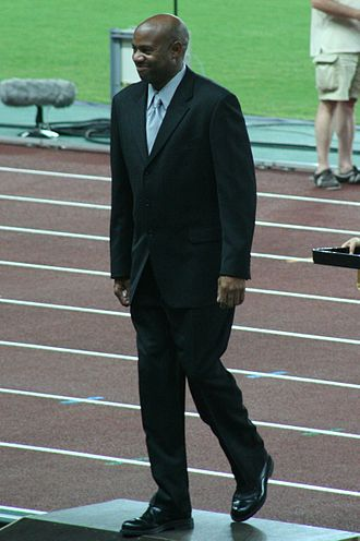 Glasgow International Match - World record holder Mike Powell competed at the meeting in 1993.