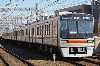 Sakaisuji Line - A refurbished Sakaisuji Line 66 series EMU in January 2016