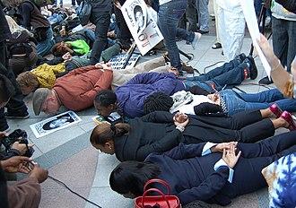 Shooting of Oscar Grant - March for Oscar Grant, 14 January 2009