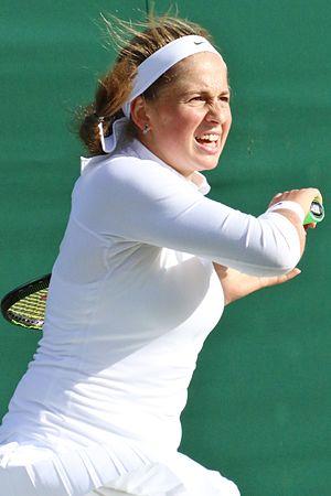 Jeļena Ostapenko - Ostapenko at the 2016 Wimbledon Championships