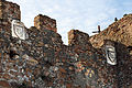 Ostia antica, mura 05 stemmi.JPG
