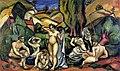 Othon Friesz, 1908, Les Baigneuses des Andelys (The Bathers of Andelys), oil on canvas, 97 x 162 cm, Musée du Petit Palais, Geneva.jpg