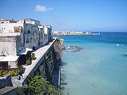 Otranto dal bastione dei Pelasgi