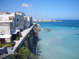 Veduta di Otranto dal bastione dei Pelasgi